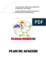 Plan de afaceri industria alimentara
