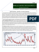American Money Management Client Letter Q1 2013
