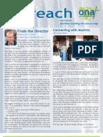Outreach Newsletter Winter 2013