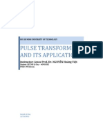 Pulse transformer and its applications