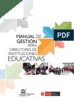 Manual de gestión para directores de centros educativos