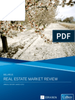 Colliers Belarus Real Estate Market Review 2012