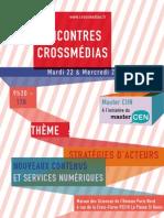 Programme des Rencontres Crossmédias 2013