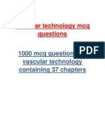 Vascular technology 1000 multiple choice questions