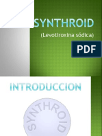 Synthroid (levotiroxine sodium)