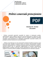 politici comerciale protectioniste
