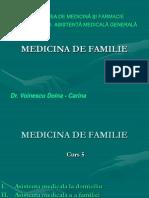 MEDICINA de FAMILIE AMG Curs 5 Prezentare Ultimul Curs
