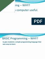 Introduction to QBasic