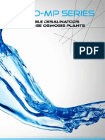 Mobile Desalinators Reverse Osmosis plants