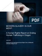 trafficking oregon willamette law school report