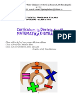 Optional -Matematica Distractiva. Cls 4