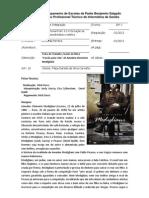 Ficha de Trabalho sobre Modigliani - Filipa Carvalho Nº10