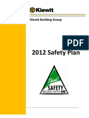 safety plan | Safety | Supervisor