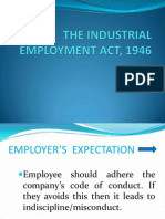 industrial  employment act