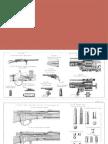 Russian Rifle Drawings