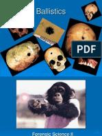 Forensic Science Ballistics Power Point