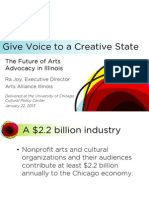 The Future of Arts Advocacy in Illinois
