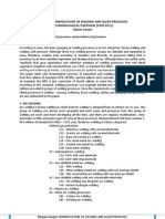 ISO 4063 - The chronological overview of nomenclature system ISO 4063 for welding and allied processes