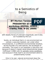 [Morten Tønnessen] Steps to a Semiotics of Being