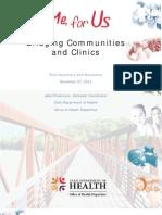 Bridging Communities and Clinics in Utah 2012