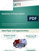 Anatomy of Duqu Exploit