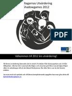 Deltagarnas utvärdering Shadowgames 2012