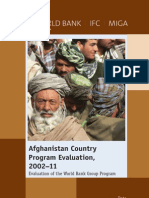 Evaluation of the World Bank Group Program in Afghanistan