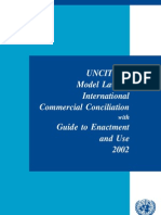 UNCITRAL Model Law on International Commercial Conciliation with Guide to Enactment and Use