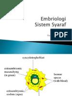 embriologi sistem saraf by bu ZETI FK UIN