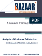 Customer Satisfaction Research