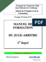 Manuel du JA1 2012-2013