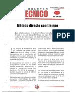 Levapan Boletin Tecnico 020 - Metodo Directo Con Tiempo