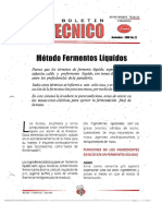 Levapan Boletin Tecnico 022 - Metodo Fermento Liquido