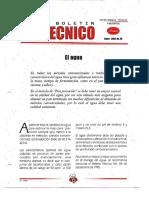 Levapan Boletin Tecnico 029 - El Agua, Pan Precocido, Proceso, Amasado