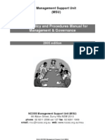 sample policy and procedures manual for management and governance