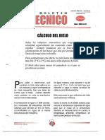 Levapan Boletin Tecnico 031 - Calculo Del Hielo en Amasadoras