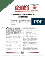 Levapan Boletin Tecnico 033 - La Precoccion y Los Sistemas de Conservacion