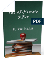 The 45-Minute MBA