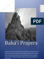 Baha'i Prayer Book
