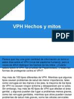 VPH Hechos y Mitos