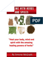 Healing With Herbs and Spices