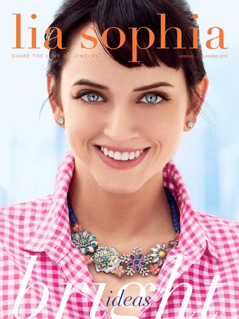Lia Sophia Windswept Retired Long Necklace