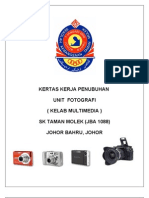 Kertas kerja  unit fotografi sekolah