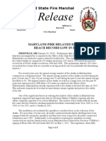 2013-01-10 Statewide Fire Deaths Reach Record Low