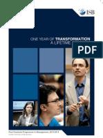 ISB Brochure 2013-14