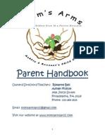 momsarms parent handbook