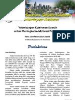 """Policy Paper """"Membangun Komitmen Daerah untuk Meningkatan Motivasi Provider"""""""
