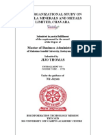 kmml organisation study