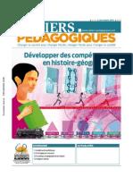 Mon article sur l'enseignement par compétences publié dans les Cahiers pédagogiques en France