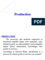 production - introduction